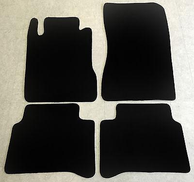 Fußmatten Autoteppiche für Mercedes CLS Klasse W219 2004-2010 schwarz 4tlg Neu