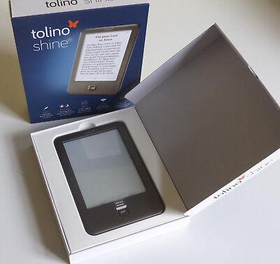 E-Book Reader Tolino Shine 4GB, WLAN, 15,2 cm (6 Zoll) - Neuwertig in OVP, occasion d'occasion  Expédié en Belgium