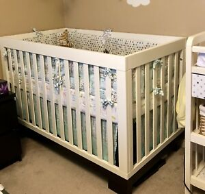 Babyletto 3 in 1 Modo crib + mattress (used for 8 weeks)