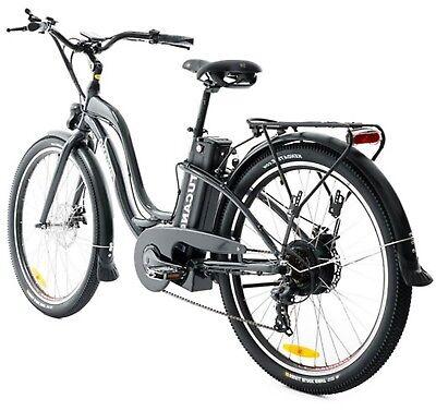 MONSTER X-Road 27,5 - Bicicleta Eléctrica GRIS ANTRACITA