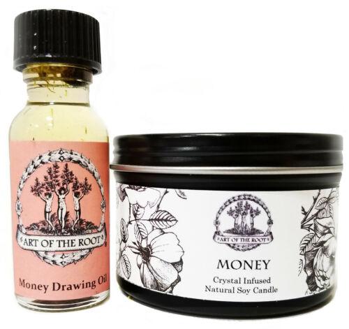 Money Spell Kit Wealth Cash Prosperity Abundance Wiccan Pagan Hoodoo Conjure