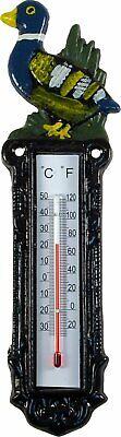 Termómetro exterior.DE METAL termometro pato 355966