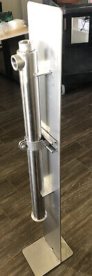Stainless Steel Gas Scrubber Packed Column Filter 2 X 30 With Fittings