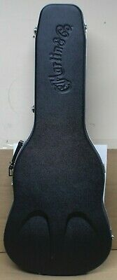 Martin & Co D-28 Acoustic Guitar Hard Shell Case - Green Lined Padding