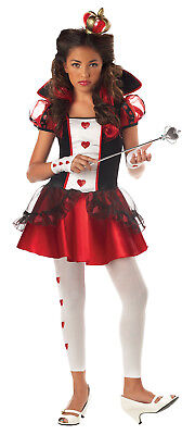 Queen of Hearts Alice in Wonderland Teen Child Costume