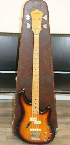 Vintage 1979 Ibanez Roadster 4 String Bass w/ Original Case * LOOK*  FREE SHIP