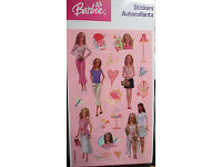 """2.5/""""x2.5/"""" each 25 Barbie Dreamhouse Adventures Stickers Party Favors"""