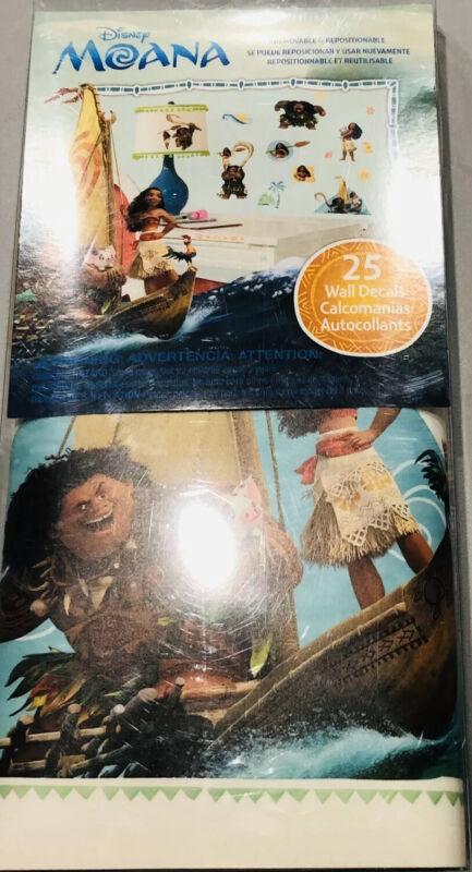 RoomMates RMK3382SCS Disney Moana Peel and Stick Wall Stickers Decor