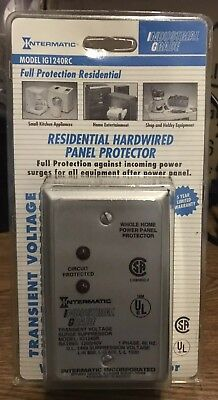 Intermatic Circuit Breaker Panel Surge Protector Ig1240rc Home Panel Protection