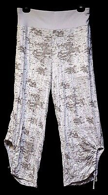 TS pants TAKING SHAPE plus sz S-M/ 18 Glitter Crop Pant stretch comfy NWT rp$120