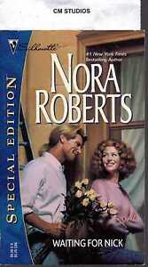 WAITING FOR NICK by NORA ROBERTS PB 1997 SSE # 1088 BRAND NEW STANISLASKI