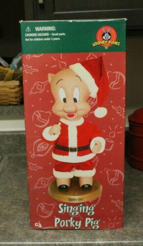 Gemmy Animated Singing Porkey Pig 2002