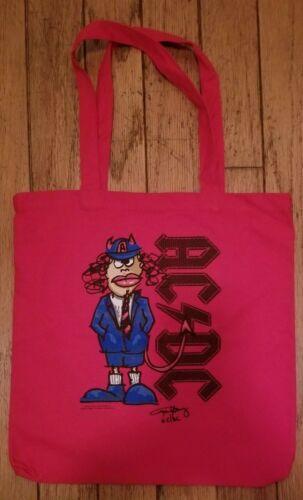 AC/DC Tote bag Official Tour merchandise