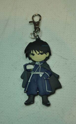 Fullmetal Alchemist Keychain  Roy Mustang Flame Anime