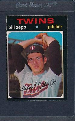 1971 OPC O-Pee-Chee #271 Bill Zepp Twins VG/EX *37 for sale  Shipping to Canada
