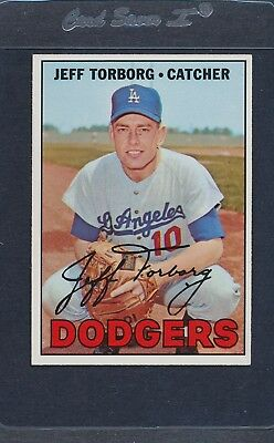 1967 Topps #398 Jeff Torborg Dodgers NM/MT *5186