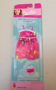 Barbie-Dreamy-Touches-Fashions-Clothing-Dress-Sandals-Shoes-Outfit-2000