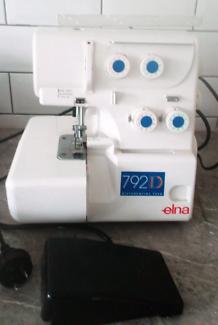 Elna over locker sewing machine