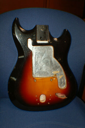 Vintage RARE 1967 Hagstrom II Electric Guitar Body Luthier Parts