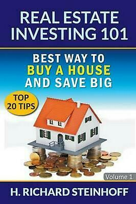 Real Estate Investing 101: Best Way to Buy a House and Save Big (Top 20 Tips) - (Best Big Room House)