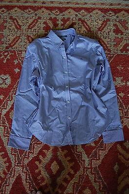 New Ralph Lauren Size L Shirt Non-Iron Wrinkle-Free Dress Shirt