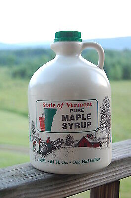 100% PURE VERMONT MAPLE SYRUP  Gallon, 1/2 Gal, Quart, Pints ()