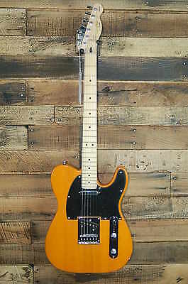 Squier Affinity Telecaster Electric Guitar - Butterscotch Blonde w/ Fender Bag