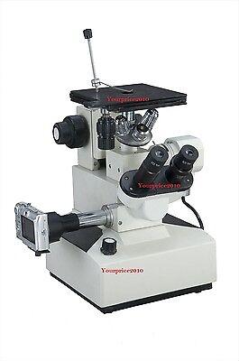 Inverted Metallurgical Microscope Precision Trinocular Kfw K77