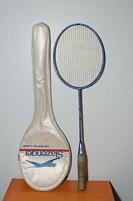 Sporting Goods Tennis & Racquet Sports Vintage Slazenger Badmington Racquet Cover Only