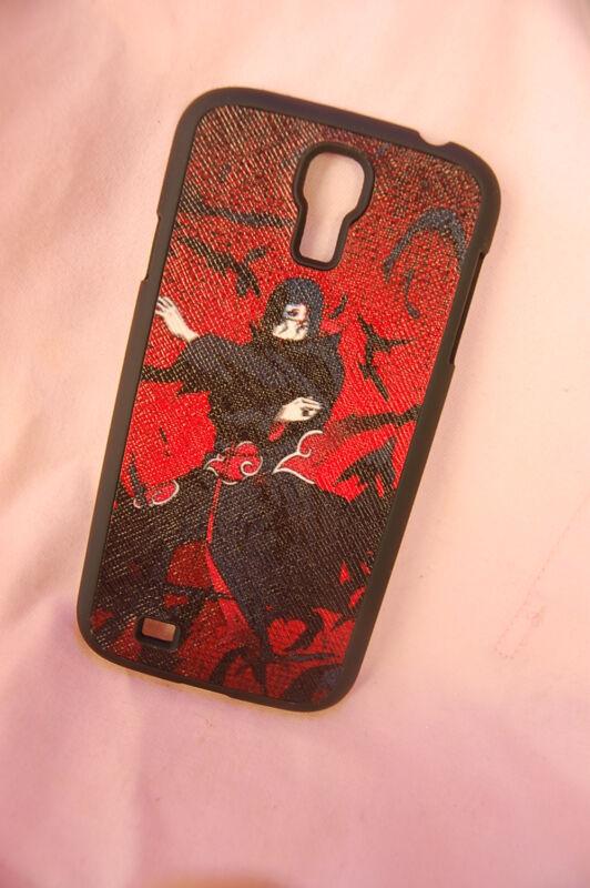 Samsung Galaxy S4 case Anime leather Phone case Naruto Uchiha Itachi