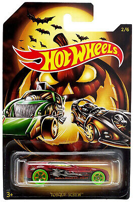 2019 Hot Wheels 1/64 Happy Halloween Turque Screw Die-Cast Car #2/6 GBC56