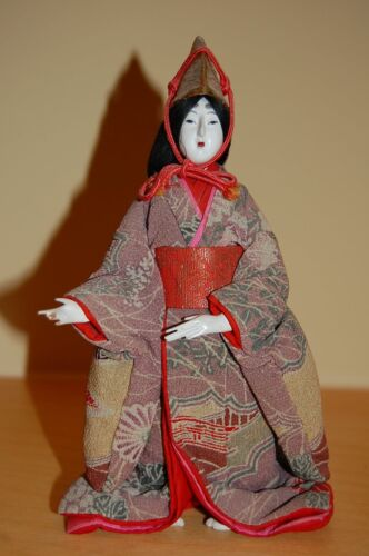 Vintage Japanese Serving Doll