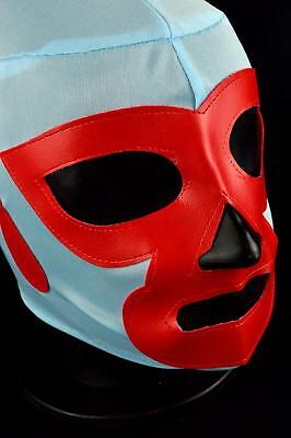 NACHO LIBRE Adult Mask Mexican Wrestling Mask Lucha Libre Luchador Costume Wrest for sale  Mexico