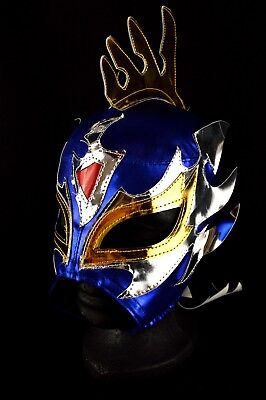 MRMASKMAN FENIX BLUE CHILD SPANDEX MEXICAN WRESTLING MASK LUCHA LIBRE COSTUME ](Kids Wrestling Costumes)