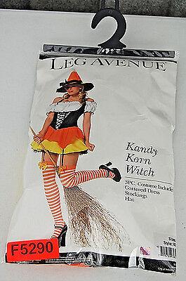 Kandi Halloween Costume (Kandy Korn Witch Woman's Leg Avenue Halloween Costume)