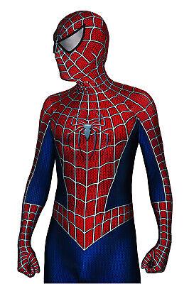 The Amazing Spider-Man Costume Halloween Cosplay Spiderman Superhero Bodysuit  ](Superhero Bodysuit)