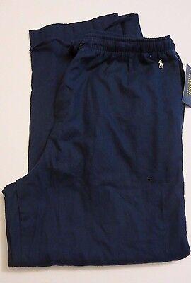 Polo Ralph Lauren Men's XL Navy Blue Flannel Cotton Pajama Lounge Pants NWT RL