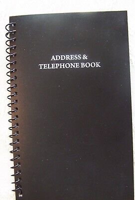 Telephone Address Book Holds 400 Entries Name, Address,Home,Cell phone,Email