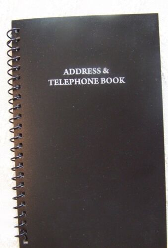 New Address & Telephone Book Holds 400 Entries 16 per letter Free Shipping!
