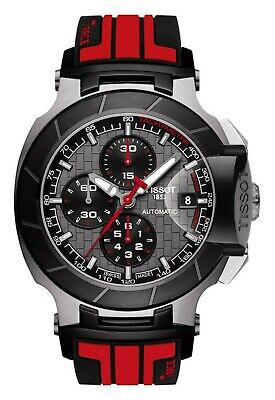 $1425 Tissot Mens T-Race MotoGP Chronograph Swiss Automatic Watch T0484272706100