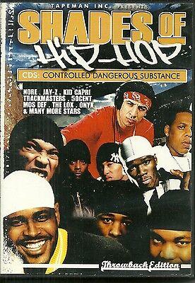 RARE / DVD - SHADES OF HIP HOP / NORE, JAY Z, KID CAPRI, 50CENT, ONYX / RAP (Jay Z Shades)
