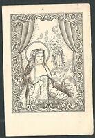 Estampa Antigua De Santa Joaquina De Vedruna Andachtsbild Santino Holy Card -  - ebay.es