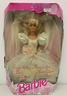 BARBIE Vintage Romantic Bride Doll Mattel 1992 New European Box New