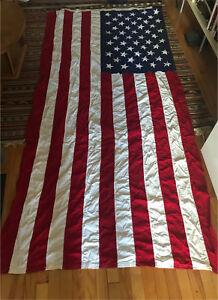 Antique USA flag cotton