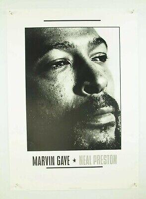 0254 Vintage Music Poster Art Marvin Gaye