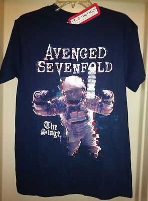 New Avenged Sevenfold Music Concert T Shirt The Stage Astronaut Live Nation Usa