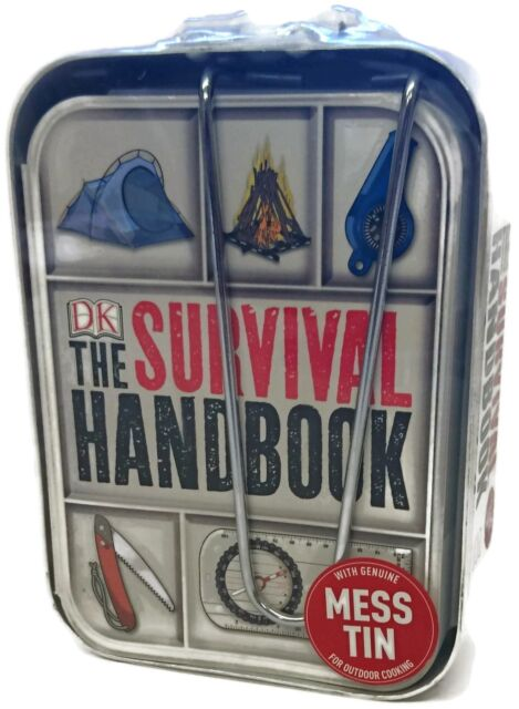 The Survival Handbook - With Genuine Mess Tin - RRP: £14.99
