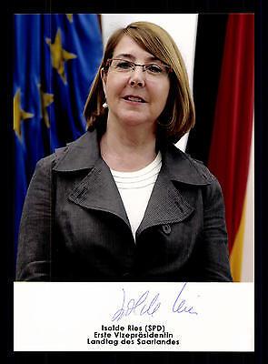 Isolde Ries Foto  Original Signiert Politik +G 16223