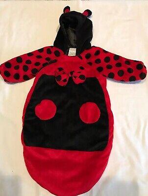 Lady Bug Plush Infant Costume Size 0 - 6 Months - Lady Bug Infant Costume