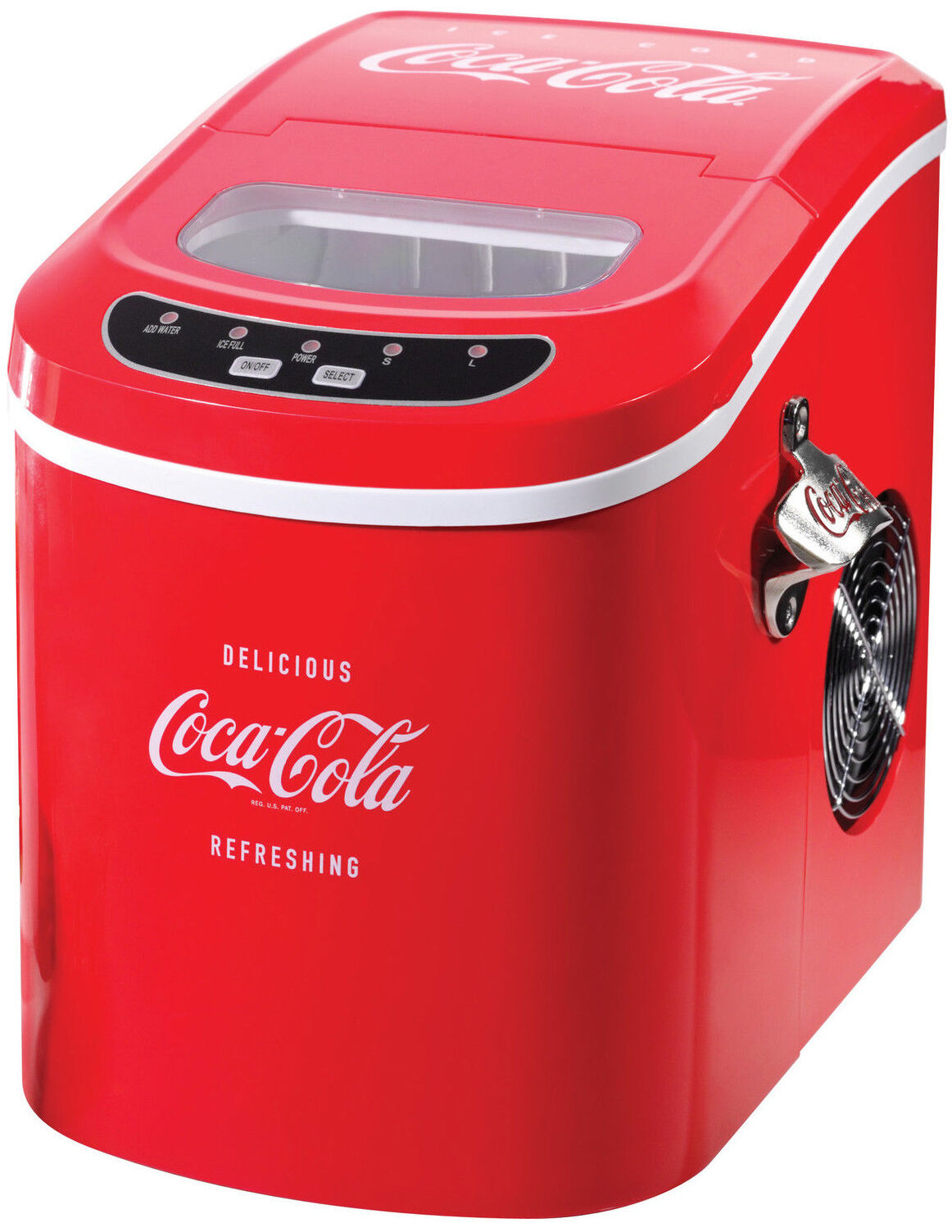 Nostalgia Electrics Coca Cola Series Ice Maker